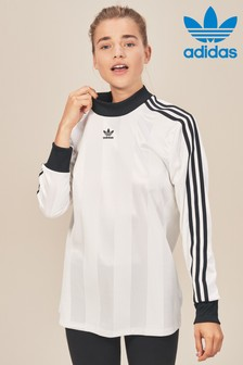 adidas Originals White Long Sleeve Tee
