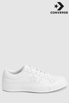 Converse One Star Leather Trainers