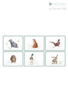 Set of 6 Wrendale Placemats
