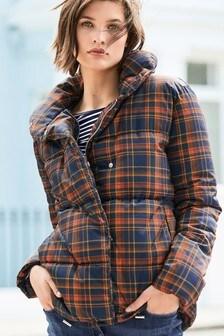 Tartan Padded Jacket