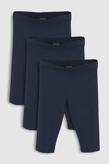 Cropped Leggings Three Pack (3-16yrs)