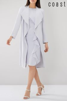 Coast Grey Shanie Drape Jacket