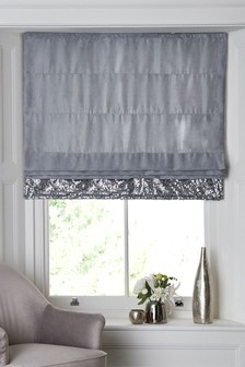 Opulent Sequin Panel Roman Blind