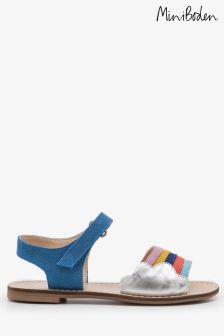 Boden Blue Holiday Sandal