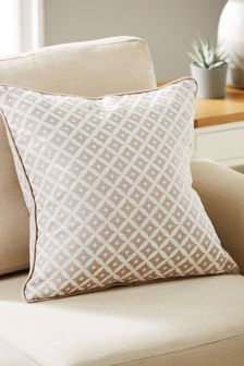 Dawson Woven Geo Square Cushion