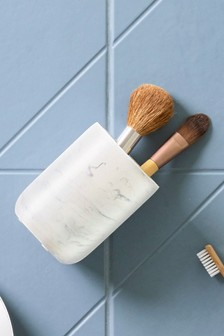 Marble Effect Toothbrush Tumbler