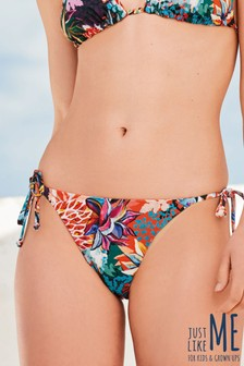 Reversible Tie Side Bikini Briefs