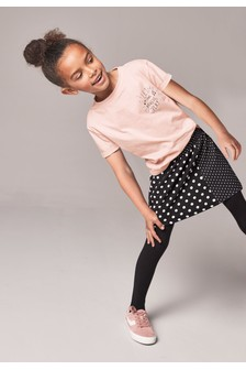 T-Shirt And Skirt Set (3-16yrs)