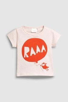 Stripe Slogan T-Shirt (3mths-6yrs)