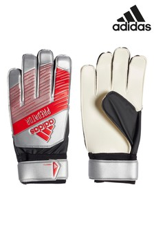 adidas Red/Silver Predator Goalkeeper Gloves