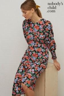 Nobody's Child Ariana Floral Midi Dress