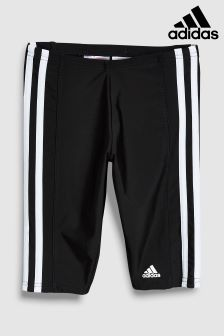 adidas Black 3 Stripe Jammer