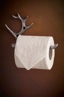 Antler Toilet Roll Holder
