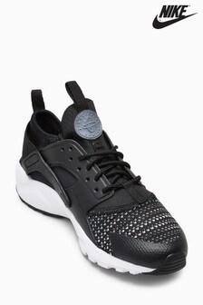 Nike Black Knit Huarache