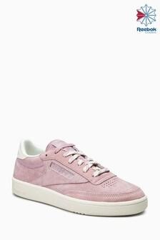 Reebok Pink Suede Club