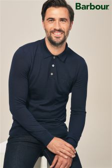 Barbour® Merino Wool Knitted Polo