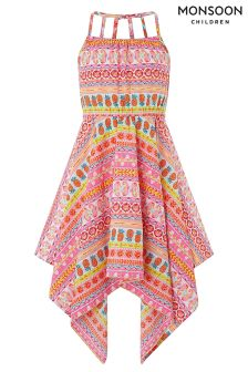 Monsoon Pink Saffie Dress