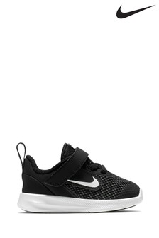 Nike Run Black/Black Downshifter 9 Infant Trainers