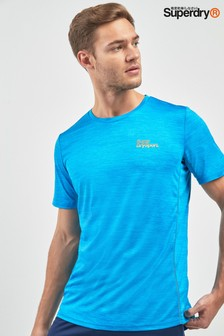 Superdry Blue Space Sports Top