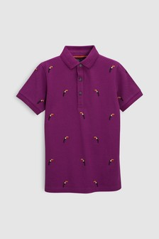 Embroidered Polo (3-16yrs)