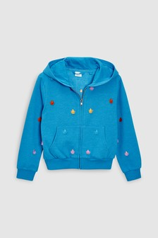 Tassel Zip Through Hoody (3-16yrs)