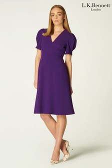 L.K.Bennett Purple Bettina Dress