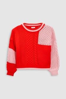 Colourblock Sweater (3-16yrs)