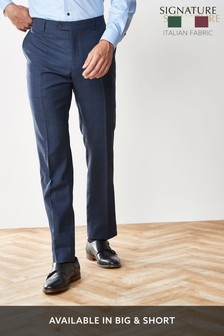 T G Di Fabio Signature Check Suit: Trousers