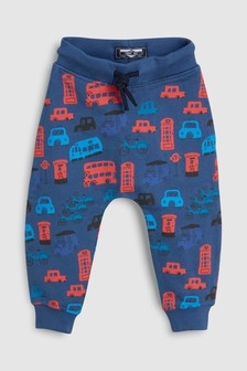 All Over Print Bus Joggers (3mths-6yrs)
