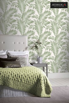 Tropical Palm Leaves Wallpaper by Arthouse