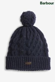 قبعة أزرق داكن بكرة صغيرةSeaton منBarbour