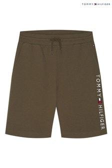 Tommy Hilfiger Green Loungewear Sweatshorts