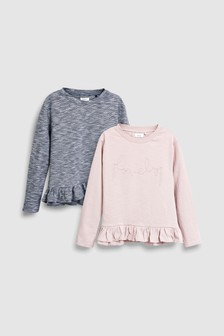 Peplum Tops Two Pack (3-16yrs)