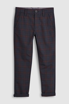 Check Chino Trousers (3-16yrs)