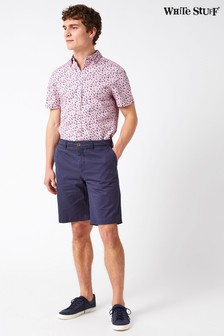 White Stuff Blue Banbury Stretch Chino Short