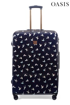 Oasis Hummingbird Print Large Suitcase