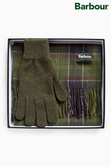 Barbour® Scarf And Glove Gift Set
