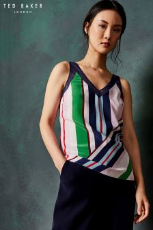Ted Baker Silk Calixto Stripe Cami