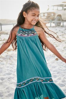 Embellished Maxi Dress (3-16yrs)