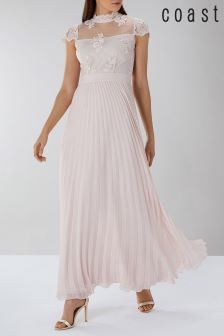 Coast Pink Jen Lace Maxi Dress