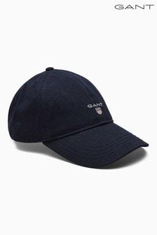 Gorra de sarga azul marino de Gant