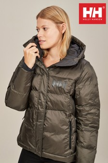Helly Hansen Khaki Puffy Jacket