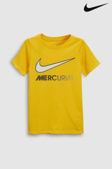 Nike Yellow Neymar Mercurial Tee