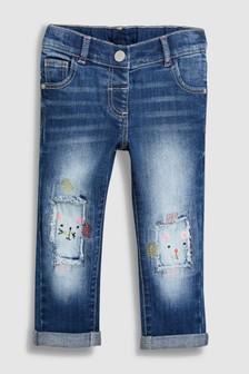 Cat Distressed Jeans (3mths-6yrs)