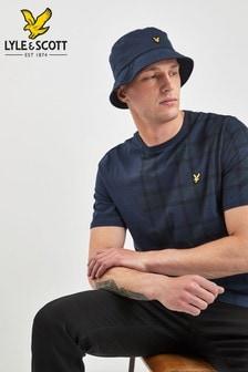 Lyle & Scott Navy Tartan T-Shirt