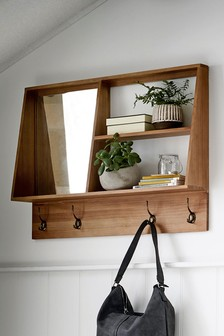 Country Mirror Shelf