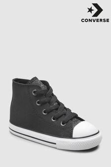 Converse Black Glitter Chuck Taylor High