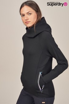 Superdry Core Gym Tech Funnel Neck Hoody