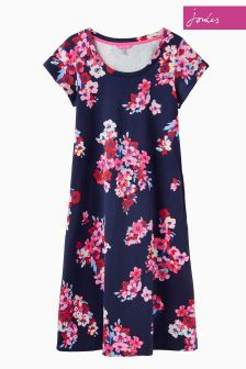 Joules French Navy Wallflower Rayma Dress