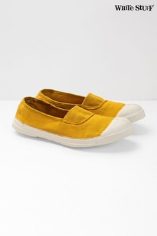 White Stuff Yellow Bensimon Pump